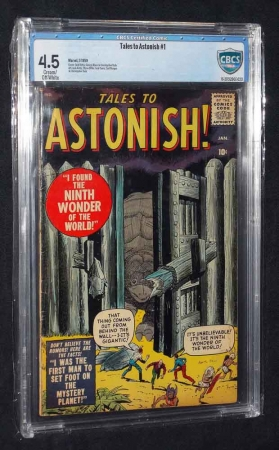 Tales To Astonish #1 CBCS 4.5 Cream to Off White Pages 1959 Marvel/Atlas Comics