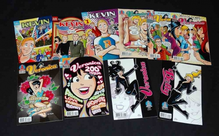 Veronica #200,201,203,204,205,206 & Betty #192+ Kevin Keller #1,2,4 Archie 2010