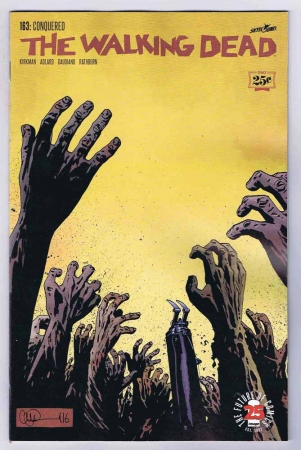 The Walking Dead #163 NM 25th Anniversary 2017 Image