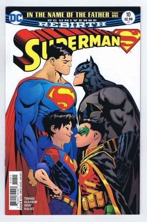 Superman #10 Intro Super Sons VF 2017 DC