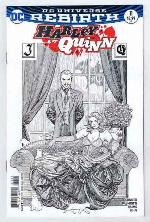 Harley Quinn #11 Frank Cho Variant Cover NM 2017 DC