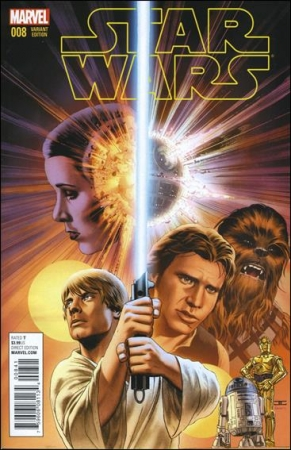 Star Wars #8 Variant VF/NM 2015 Marvel