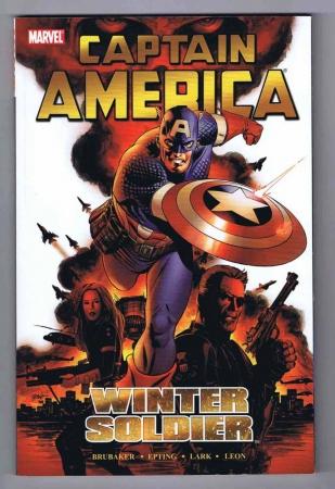 Captain America Winter Soldier Trade Paperback VF/NM Signed w/COA Steve Epting 2006 Marvel