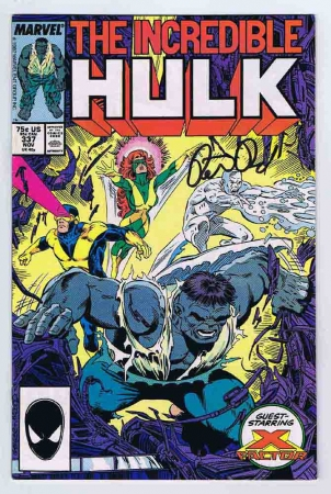 Incredible Hulk #337 VF/NM 1987 Marvel