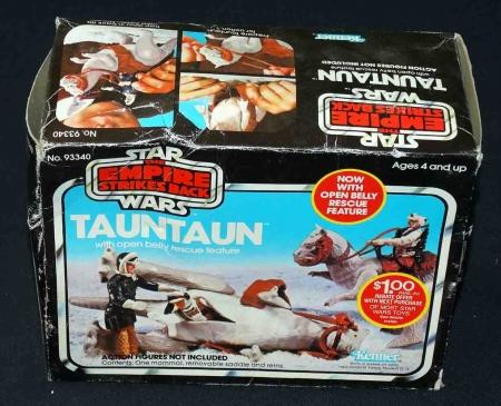 Star Wars ESB Tauntaun Open Belly in Original Box w/Original Inserts+ 1981 CGC