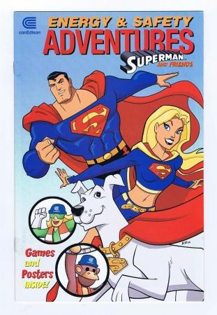 Con Edison Presents Energy & Safety Adventures w/ Superman & Promo Comic 2006